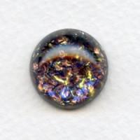 Amethyst Glass Opal Cabochon 18mm (1)