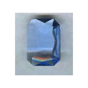 ^Light Sapphire Glass Octagon Jewelry Stone 25x18mm (1)