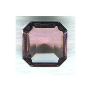 ^Light Amethyst Glass Square Octagon Stones 10x10mm
