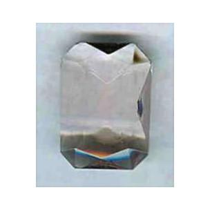 ^Light Amethyst Glass Octagons Unfoiled 14x10mm