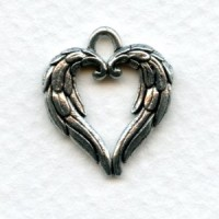 Angel Wings Hearts With A Loop (2)