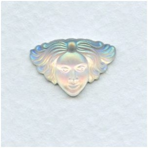 Crystal Face Jewelry Stone Matte Crystal AB (1)