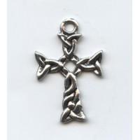Celtic Cross Pendant 29x19mm Antique Silver (1)