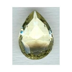 ^Jonquil Pear Shape Glass Jewelry Stone 18x13mm