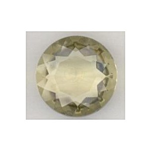 ^Jonquil Glass Round 25mm Unfoiled Jewelry Stone (1)