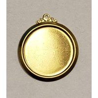 Elegant Simple Settings 18mm Raw Brass (6)