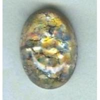 ^Multi-Color Glass Opal Cabochons Handmade 12x10mm