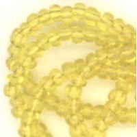^Glass Seed Beads Citrine 3mm Size 8/0 Rocailles