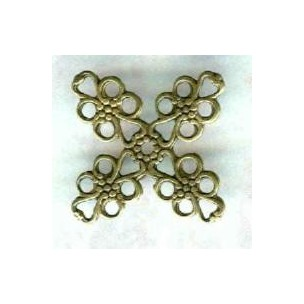 ^Filigrees for Layering or Wrapping Oxidized Brass 16mm