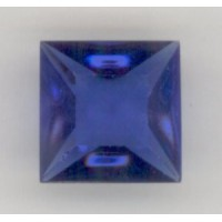 ^Square Sapphire Pointed Back Stones 12x12mm