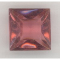 Square Rose Pointed Back Stones 12x12mm