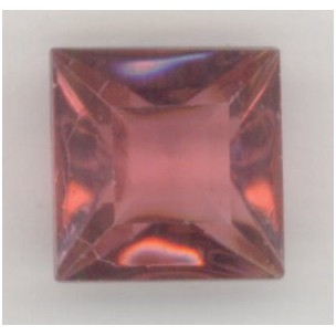 ^Square Rose Pointed Back Stones 12x12mm