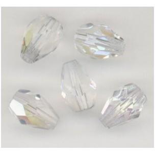 Crystal AB Pear Shape Beads 10x7mm