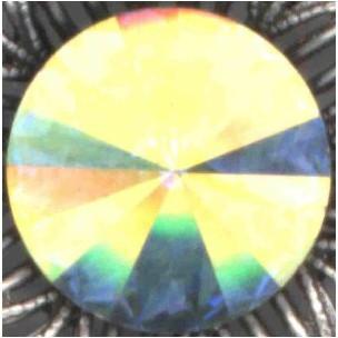 Rivoli Jewelry Stones Crystal AB 12mm