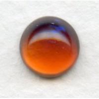 Dragon Breath Mexican Opal Glass Cabochon 9mm
