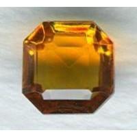 ^Topaz Glass Square Octagon Jewelry Stones 8x8mm