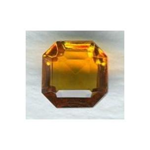 Topaz Glass Square Octagon Jewelry Stones 8x8mm