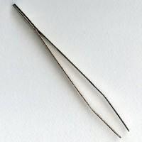 Steel Bead Tweezers Four Inches Long