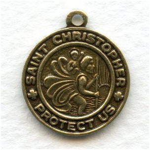 Saint Christopher Medals 18mm (3)
