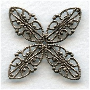 Superb Filigrees for Wrapping Oxidized Silver (3)