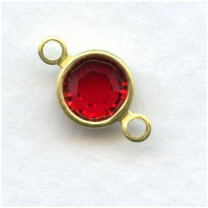 Swarovski Chanel Set 29ss Connectors Ruby