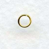 *Raw Brass 22 Gauge Jump Rings 4mm