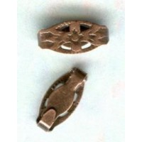 Snap Clasps Bails or Connectors Oxidized Copper Plated