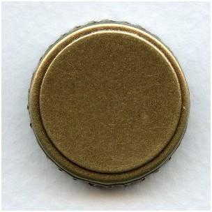 Crown Edge Settings 25mm Oxidized Brass (6)