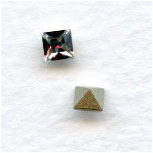 ^Swarovski Elements 4447 Xilion Square 4mm
