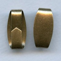 Oversized Bail Finding Oxidized Brass 23mm