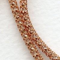 Copper over Silver Chain SilverSilk