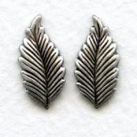 Favorite Oxidized Silver Leaves in a Great Size
