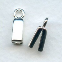 Silver Plated Capture Clasps for SilverSilk