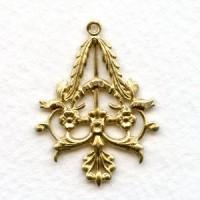 The MOST Elegant Pendant Drop Ever Raw Brass