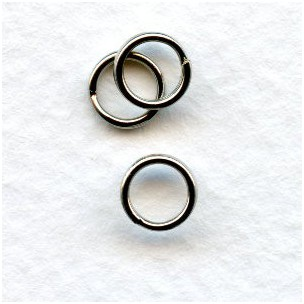 ^Split Rings 6mm Nickel Plated Steel