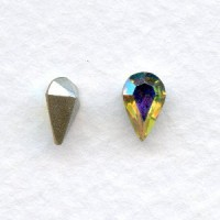 Crystal AB 8x5mm Pear Shaped Stones