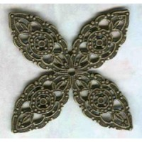 ^Filigree Splendid Details Oxidized Brass