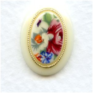 Decal German 3 Part 18x13mm Cabochon (1)