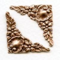 Corner Embellishments Fancy Oxidized Copper