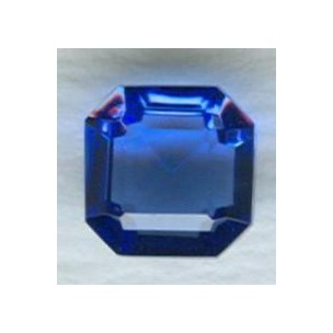 ^Sapphire Glass Square Octagon Jewelry Stones 10x10mm