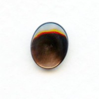 Black Tahiti Pearl 10x8mm Shell Cabochons (4)