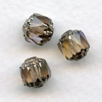 ^Cathedral Beads Champagne Color 8mm (24)