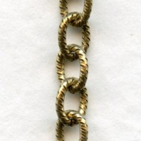 Textured Cable Chain Antique Gold The Best! (3 ft)
