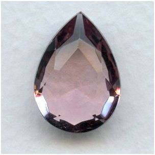 Light Amethyst Pear Shape Jewelry Stone 18x13mm