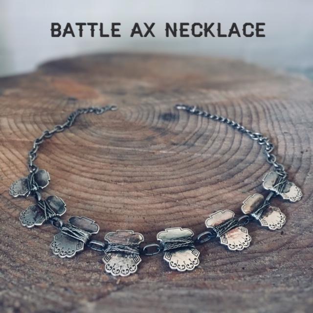 Battle Ax Necklace