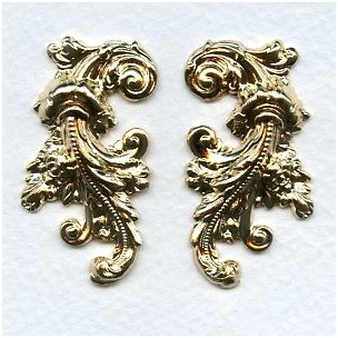 Stampings Plated Gold