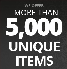 We Offer More Than 5,300 Unique Items